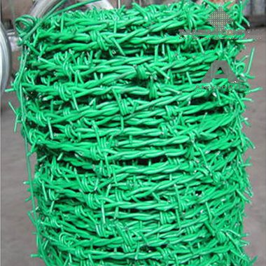 barbed wire pvc coated